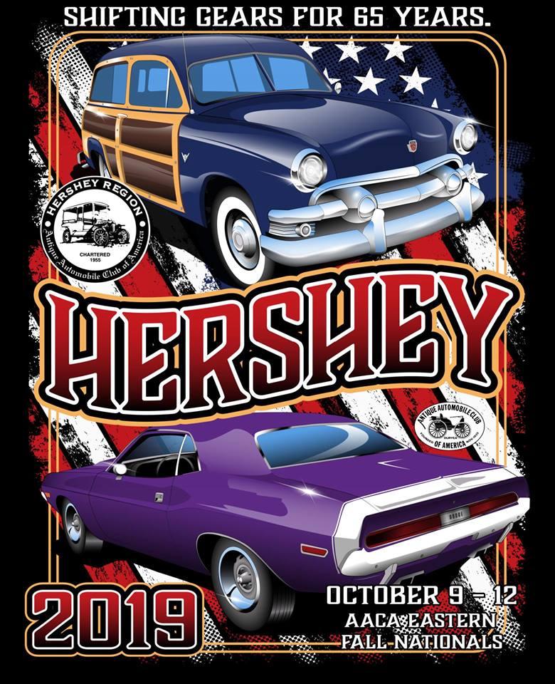Hershey Car Show >> Eastern Fall Meet Hershey Region Aaca